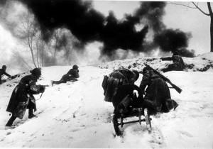 Битва за Москву. Декабрь 1941 года.