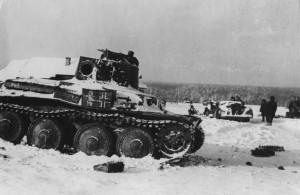 Деревня Степаново. Декабрь 1941 года