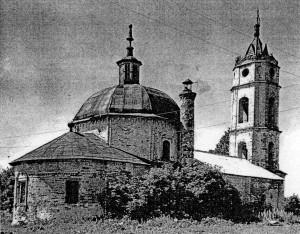 Успенский храм 1960-е гг.