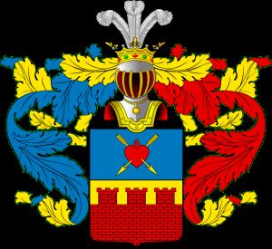 Герб рода Лужиных.