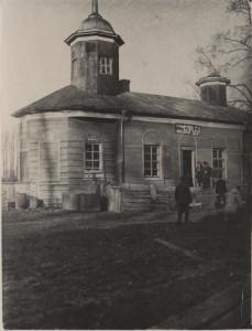 Спасская церковь в Григорове. Постреволюционное фото.