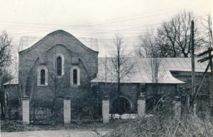 Нечаянский храм в середине ХХ века.