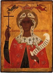 Икона святой великомученицы Параскевы.