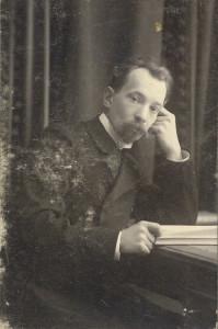 Будущий священномученик Николай Крылов. Фото 1919 года.
