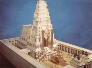Одна из реконструкций Иерусалимского храма.